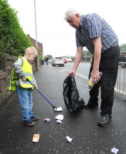 Street Cleaning in Coatbridge